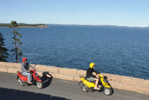 Acadia Outfitters Scooter Rentals