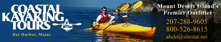Coastal Kayak Tours Bar Harbor Maine