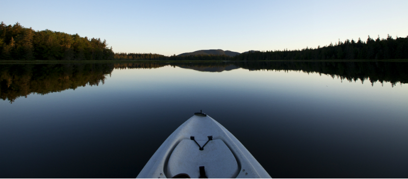 Kayaking Acadia National Parl